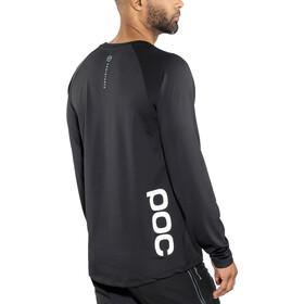 POC Resistance DH Koszulka rowerowa z długim rękawem Mężczyźni, carbon black